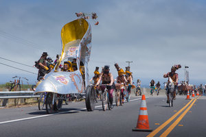 Arcata to Ferndale Kinetic Sculpture Race