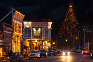 Ferndale Lit Up for Christmas