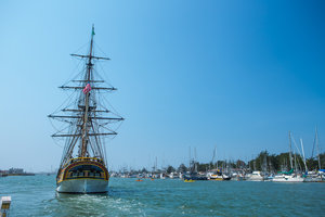 Tall Ship on Humboldt Bay