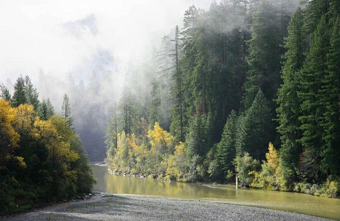Baselt, Water, Eel River