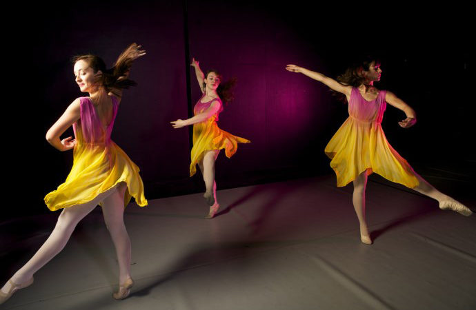 HSU Flickr, Modern Dance Performance