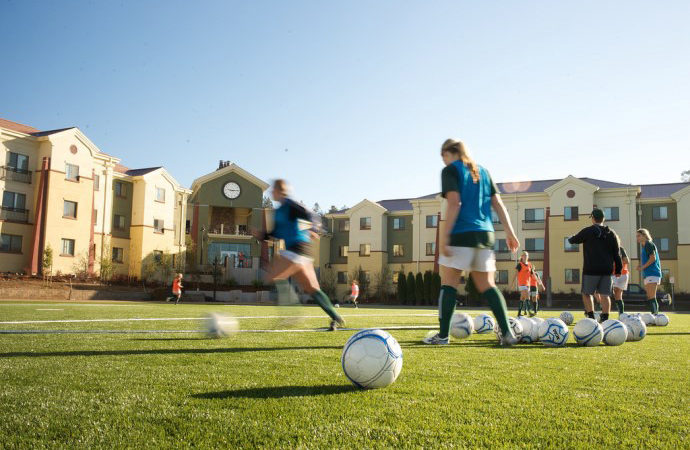 HSU Flickr, Women's Soccer Team Practice