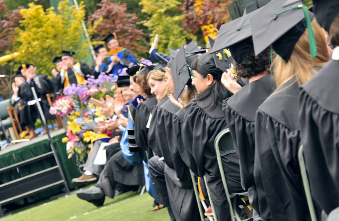 HSU Flickr, May Commencement, Redwood Bowl