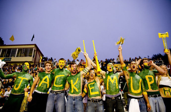 HSU Flickr, Lumberjacks Football Fans, Redwood Bowl