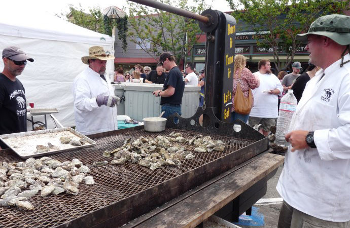 Laird, Plaza Events, Oyster Festival