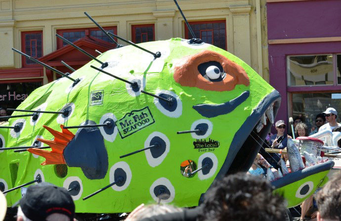 Laird, Plaza Events, Kinetic Sculpture Race